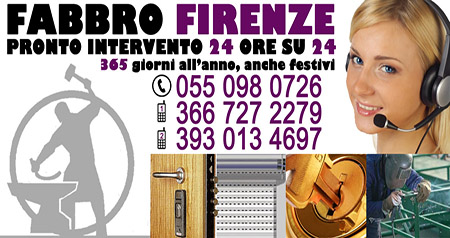 Fabbro serrature Firenze: 366.7272279